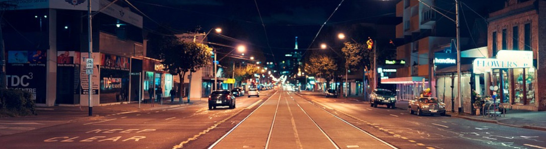 Melbourne Night Time
